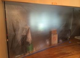 Harrington Dust Wall Partition